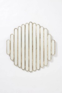 Anthro Abate Slatted Mirror