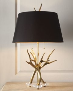 John-richard Collection Contemporary Horn Lamp