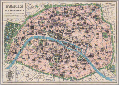 18. paris map